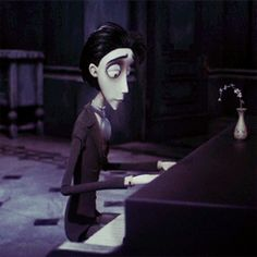 Fan Art of Victor ^^ for fans of Victor Van Dort 32202588 Corpse Bride Piano, Victor Corpse Bride, Corpse Bride Art, Tim Burton Corpse Bride, Tim Burton Johnny Depp, Tim Burton Art, Tim Burton Style, Tim Burton Films, Stop Motion