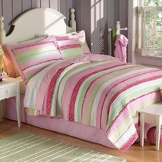 America Anna's Ruffle Pink Quilt at Kohls