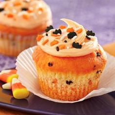 Funfetti® Color Me Halloween Cupcakes