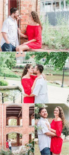 Summer Engagement in Falls Park