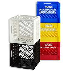 I like this idea i want to use milk crates as a creative for Where can i buy wooden milk crates
