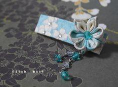 katumi made *つまみ細工の簪(かんざし)髪飾り、つまみ細工のshop*つまみ細バレッタ完成品