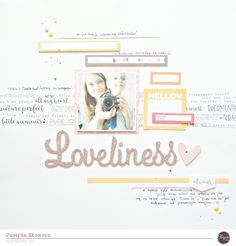 """Hello all! It's Justt here today. :) This time I would like to show you a layout made with June """"La Dolce Vita"""" kit. When I first saw it shrieked with joy!! It's perfect for…"""