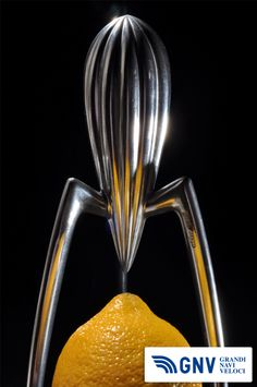 This #orange #squeezer, called #JuicySalif, is an icon of #industrial #design. It's designed by Philippe #Starck in 1990 for the #Italian #kitchenware company #Alessi.  Discover #GNV routes from/to #Italy here: http://www.gnv.it/en.html