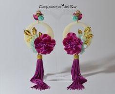 9cd74c743eed 11 mejores imágenes de pendientes flamenca
