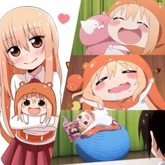Anyone watching Himouto! Umaru-chan ? (ノ*≧▽≦)ノ it describes my life so much...minus the smart and cute part tho XD