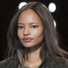Malaika Firth at Isabel Marant Fall 2014