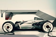 Here is my degree project realised during my internship at AUDI in exterior design.The brief is 2 racing cars + 1 pick-up truck. This project combines E-tron technology with QUATTRO spirit.We've decided to develop only the race car for a question of time.…