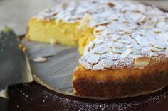 Flourless Orange and Almond Cake...wondering if I can pass this off as a b'day cake...