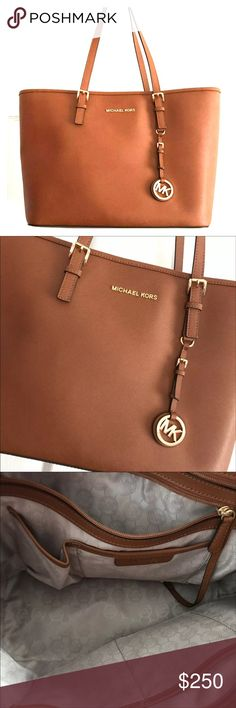 Michael Kors Camel Large Tote Purse New with tags not attached KORS Michael Kors Bags Shoulder Bags