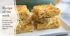 As featured in the Over60 cookbook, The Way Mum Made It, here Jeannie shares her yummy Zucchini slice recipe.
