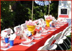 Nautical Birthday Party {Boy's theme}   Marabous