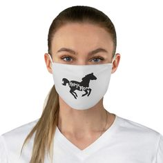 Horse Mom Reusable Face Mask Diy Mask, Diy Face Mask, Face Masks, Best Face Mask, Elephant Fabric, Jw Gifts, Go Bags, Mask Making, Halloween Masks