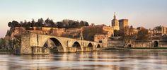 Brücke Avignon: pont d'avignon in der Provence | Nostalgic Oldtimerreisen