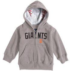San Francisco Giants Toddler Baseball Zip Hood by Soft as a Grape - MLB.com Shop