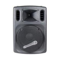 "Audiopipe 15"""" DJ Speaker Built in Amp 500 W MAX M119-DJAP1577AUSB"