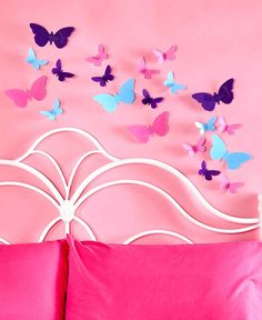 Super Beautiful Butterflies Set Of 20, Home Decor. Bedroom Decor. #Unbranded