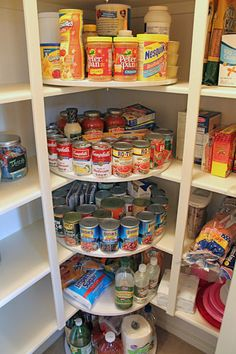 Lazy susans get the job done! | Pantry organization | DIY | pantry ideas | Ultimate Closet Systems