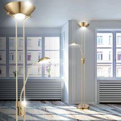 20 5W LED Lese Lampe Beweglich Decken Fluter Dimmbar Wohn Schlaf Zimmer Leuchte | eBay