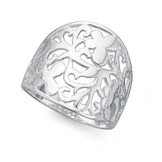 Sterling Silver Dress Ring