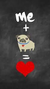 Me + Pugs = LOVE