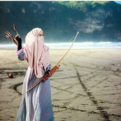 Niqab,hijab doesn't stop you from achieving the dreams.