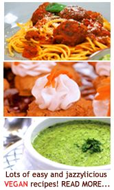 Jazzy Vegetarian - Vegan - Penne & Black Bean Salad; Red Quinoa Avocado & Chickpea Salad; Summer Cucumber Salad; Quick Tomato Salad