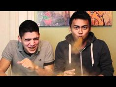 THE CINNAMON CHALLENGE!  Love the Wassabi guys. UPGRADE!  They aren't brothers. That is explained in another video.