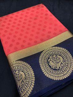 Red Black Kanjivarm Silk Saree,Festival wear Saree,Fabric Kanjivaram Silk Saree. Indian Designer Sarees, Latest Designer Sarees, Kanjivaram Sarees, Silk Sarees, Cotton Saree Designs, Saree Look, Buy Sarees Online, Chiffon Saree, Fancy Sarees