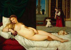 Venus of Urbino, Tiziano (Prado Museum´s collection)