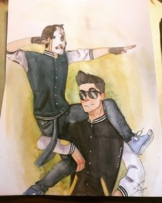 """mmoreira22: """"Take My Victory Pose!"""" Drew h2O Delirious and Vanossgaming in there Victory pose because they won my heart!☺️✌️ hope yah like it!"""