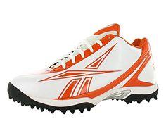 24d7306901c Reebok Mens NFL Burner Speed LOw white Orange 14 DM   Visit the image link  more