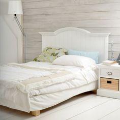 Tête de lit blanche 160 Britz