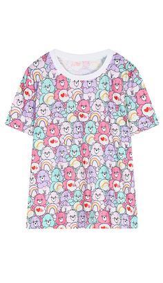 363fdc65001ddb Harajuku Fairy Kei bears T shirt