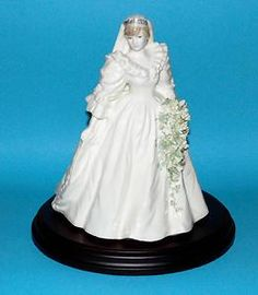Princess Diana figurine with base