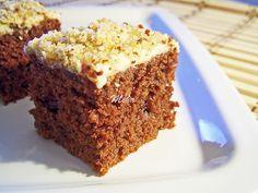 Negresa with white choc Fudge, Chocolate Cake, Banana Bread, Cheesecake, Deserts, Easy Meals, Healthy Eating, Recipes, Food