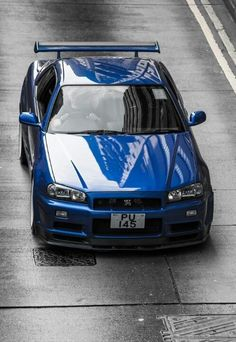 Nissan GT-R R34 More