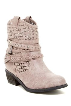 Love these Not Rated - Verador Wraparound Buckle Ankle Boot at Nordstrom Rack. Free Shipping on orders over $100.