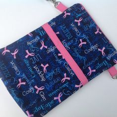 Sale  Breast Cancer  Nursing bag Nurse by SueBrainDesigns on Etsy