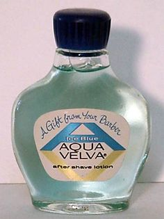 I remember my dad using this. There's something about an Aqua Velva Man!
