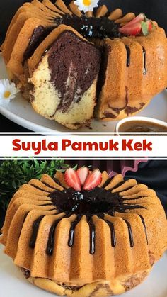 Best Cake Recipes, Dessert Recipes, Desserts, Turkish Recipes, Tasty Dishes, No Bake Cake, Bakery, Food And Drink, Cooking Recipes