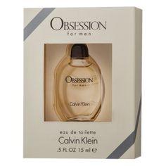 Men's Obsession by Calvin Klein Eau de Toilette - .5 oz