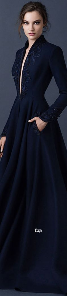 Glamour gown / karen cox. Paolo Sebastian 2015 COUTURE