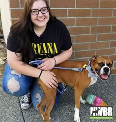 Bonnie found her perfect forever home and family with Brianna Forgacs, Husband Scott, and Daughter Shelby. Shelby was in love from the moment she saw Bonnie. And Bonnie was definitely smitten with Shelby and Brianna and Scott.Little Miss Bonnie was actually being pretty calm for a 1 year old Boxer pup. She was sure she was making a good impression, with squeaking her ice cream cone toy, and just being super cute.It took no time at all for everyone to know that this was a perfect match. Boxer Rescue, Boxer Puppies, Adoption Stories, Thing 1, 1 Year Olds, Boxers, Perfect Match, Calm, Ice Cream