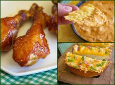 3 Fabulous Game Day Recipes from Jamie Cooks It Up!