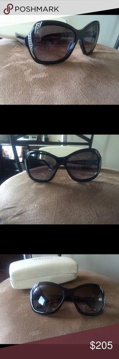 Black Versace sunglasses Like new. Black Versace sunglasses Versace Accessories Sunglasses