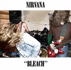 """Nirvana's """"Bleach"""" (1989) in color 💥 this is cool"""