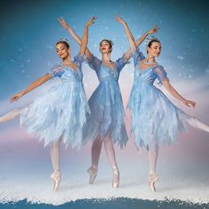 (Courtesy photo by Beau Pearson) | Ballet West dancers in newl costumes for the snow scene in Nutcracker Characters, Nutcracker Costumes, Ballet Costumes, Dance Costumes, Snow Dance, Frozen Musical, Frozen Decorations, Frozen Outfits, Frozen Kids
