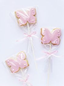 Peaceofcake ♥ Sweet Design: Butterfly Fairy Cake and Cookies