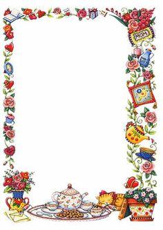 Misz masz 2 - Monika Hoppe - Álbumes web de Picasa Free Printable Stationery, Printable Recipe Cards, Borders For Paper, Borders And Frames, Homemade Recipe Books, Scrapbook Paper, Scrapbooking, Blog Backgrounds, Clip Art